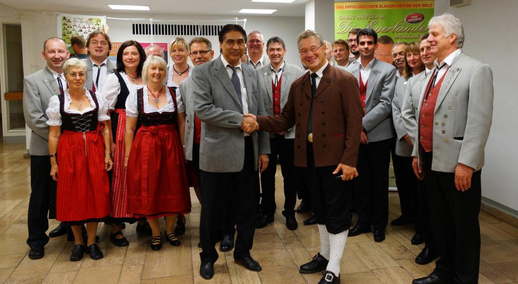 Gruppenbild SRM mit Ernst Hutter